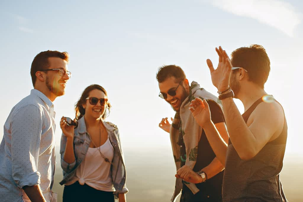 How to be happy: surround yourself with positive people